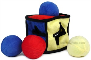 IQube Puzzle Plush Dog Toy - LARGE