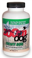Zoom Dog Itchy Dog Skin, Coat & Allergy Formula (60 Tabs)