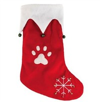 "Jingle Bell Holiday Stocking Red (14"")"