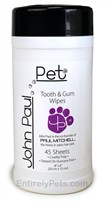 John Paul Pet Tooth & Gum Wipes (45 ct.)