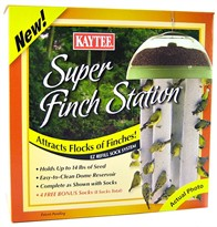 Kaytee 4 Sock Super Finch Station