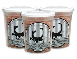 3 PACK Kitty Kuisine Natural Fish Flakes (3 oz)