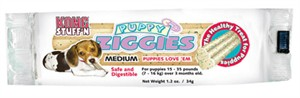Kong Puppy Ziggies  Singles - Medium