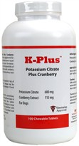 K-Plus Potassium Citrate Plus Cranberry (100 Tabs)