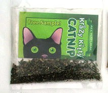 Krazy Kitty Catnip PENNY SAMPLE