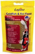 Laguna Goldfish & Koi Floating Food Small Pellets (3.5 oz)