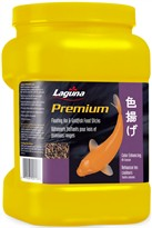 Laguna Premium Floating Koi & Goldfish Food Sticks - Color Enhancing (11 oz)