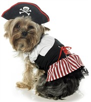 Leg Avenue Dog Costumes Pirate Puppy Costume