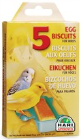 Living World Egg Biscuit - (5 pack)