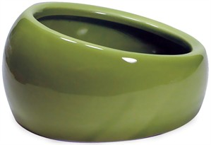 Living World Ergonomic Dish Green - Small