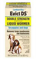 Lambert Kay Evict Double Strength Liquid Wormer (60 mL)