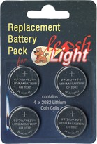 Leash Light Replacement Battery Pack - 4