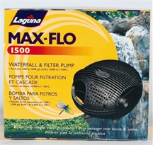 Max-Flo 1500 Electronic Waterfall & Filter Pump