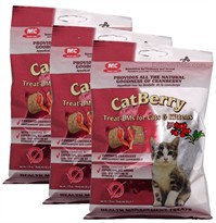 3-PACK CatBerry Treat-UMs for Cats & Kittens - (5.25 oz)