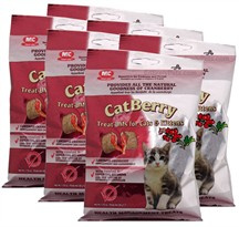 6-PACK CatBerry Treat-UMs for Cats & Kittens - (10.50 oz)