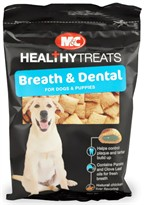 Breath & Dental-Care Treats for DOGS & PUPPIES (2.4 oz.)