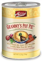 Merrick 5 Star Canned Dog Food - Grammy's Pot Pie (13.2 oz)