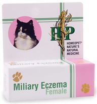 HomeoPet Miliary Eczema Female Cats (15 mL)