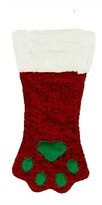 Plush Puppies Red Holiday Stocking - Mini