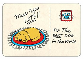 "Crunch Card ""Miss You Lots"""