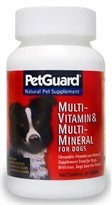 PetGuard Multi-Vitamin & Multi-Mineral for Dogs (50 Tabs)