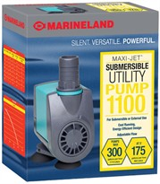 Marineland Maxi-Jet Submersible Utility Pump 1100 (21 watt, 294 gph)
