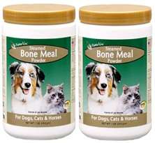 2-PACK NaturVet Steamed Bone Meal Powder  (2 lb)
