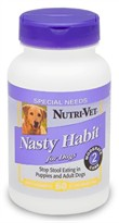 Nutri-Vet Nasty Habit for Dogs (60 Chewables)