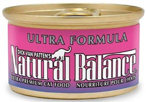 Natural Balance Ultra Formula Cat Food 24 pack (3 oz ea)