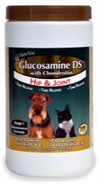 NaturVet Glucosamine DS with Chondroitin (240 Chewable Tablets)