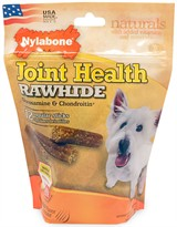 Nylabone Joint Health Rawhide Glucosamine & Chondroitin - Beef (12 regular sticks)