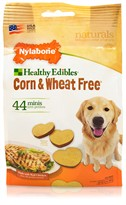 Nylabone Corn & Wheat Free - Real Chicken (44 mini chews)