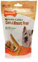 Nylabone Corn & Wheat Free - Real Chicken (8 medium chews)