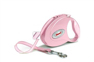 Flexi Petite Elegance 1 Rose Pink Leash for dogs up to 26 lb (10 ft)