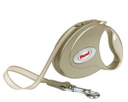 Flexi Elegance 2 Sahara Beige Medium Leash for dogs up to 55 lb (16 ft)