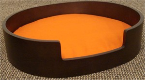 Otis and Claude SLEEP Oval : Gray/Orange (Mocha, Medium)