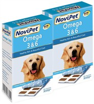 NoviPet Omega 3 and 6 Supplement for Dogs 2-PACK (60 Ct.)