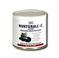 Nurturall-C Kitten Milk Replacer Powder (6 oz)