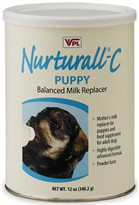 Nurturall-C Puppy Milk Replacer Powder (12 oz)