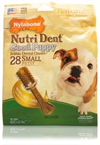 Nylabone Nutri Dent Puppy Bacon Cheese (28 Small)