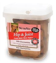 Nutri-Vet Hip and Joint Peanut Butter Flavor Wafers (2 lb)