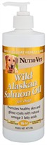 Nutri-Vet Wild Alaskan Salmon Oil for Dogs (16 oz)