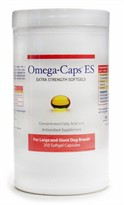 Omega-Caps ES - For Large & Giant Dogs (250 Softgel Capsules)