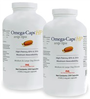 Omega-Caps HP Snip Tips for Medium & Large Breeds (500 Caps)