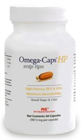 Omega-Caps HP Snip Tips for Small Dogs & Cats (60 Caps)