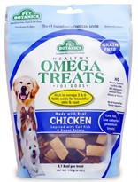 Pet Botanics Healthy Omega Treats - Chicken (6 oz)