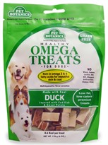 Pet Botanics Healthy Omega Treats - Duck (6 oz)