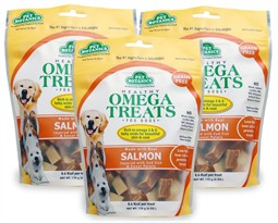 3 PACK Pet Botanics Healthy Omega Treats - Salmon (18 oz)