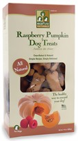 Ourpet's ecoPure Naturals Raspberry Pumpkin Dog Treats (14 oz)