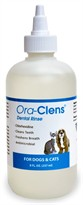 Ora-Clens Dental Rinse for Dogs and Cats 8 oz
